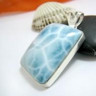 Ларимар ювелирные изделия кулон YL14 11427 Larimar-Stone