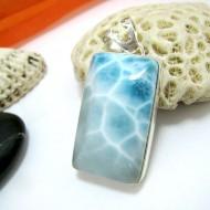 Ларимар ювелирные изделия кулон YL16 11431 Larimar-Stone