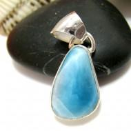 Larimar-Stone Larimar Pendant Freeform FR104 11439 49,00 €