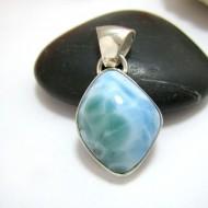 Ларимар kулон свободной форме FR106 11441 Larimar-Stone