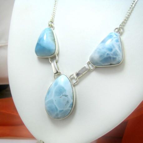 Larimar-Stone Yamir Larimar Collier YC17 11456 169,00 €