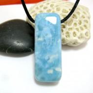 Larimar-Stone Larimar Stein mit Bohrung und Band SB270 11470 89,90 €