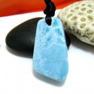 Larimar-Stone Larimar Stein mit Bohrung und Band SB284 11493 59,90 €