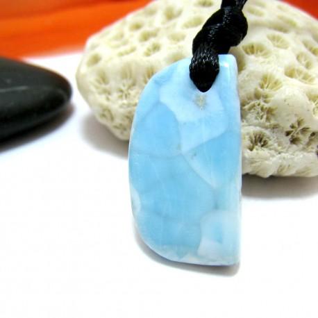 Larimar-Stone Larimar Stein mit Bohrung und Band SB314 11524 24,90 €
