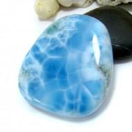 Larimar-Stone XXL Larimar Tumbled Hand flatterer HL72 11552 289,00 €