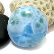 Larimar-Stone Larimar Round Cabochon RC40 11569 49,90 €