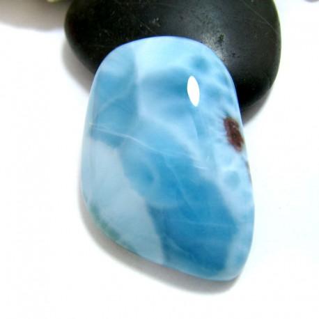 Ларимар без формы кабошон FC261 11570 Larimar-Stone