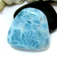 Ларимар галтованный HL74 11554 Larimar-Stone