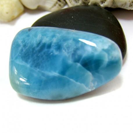 Ларимар галтованный HL77 11557 Larimar-Stone