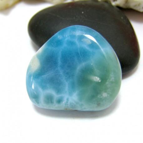 Ларимар галтованный HL79 11559 Larimar-Stone