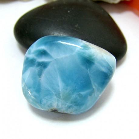 Larimar-Stone Larimar Tumbled Hand flattererHL80 11560 99,90 €