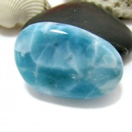 Ларимар галтованный HL86 11566 Larimar-Stone