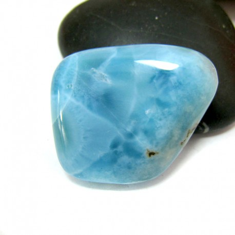 Ларимар галтованный HL87 11567 Larimar-Stone