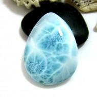 Larimar-Stone Larimar Tropfen Cabochon TC34 11577 84,90 €
