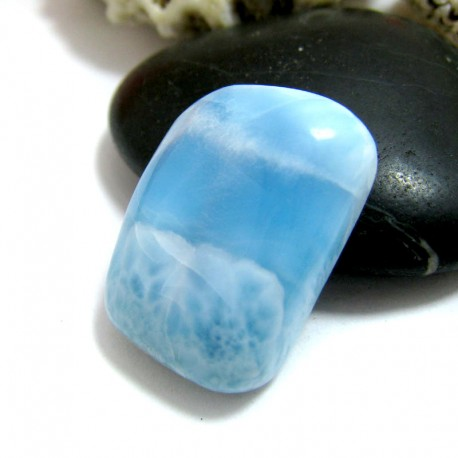 Ларимар без формы кабошон FC267 11582 Larimar-Stone