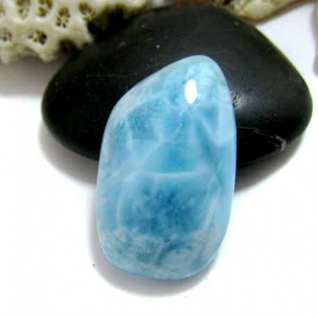 Larimar-Stone Larimar Freeform Cabochon FC269 11585 44,90 €