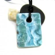 Larimar-Stone XL Larimar Stone Polished with drilled hole SB309 11726 149,90 €