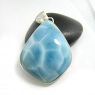 Ларимар kулон свободной форме FR108 11700 Larimar-Stone