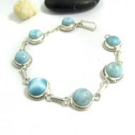 Larimar-Stone Yamir Bracelet 7 Larimar Stones Classic LC39 11666 99,00 €