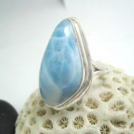 Ларимар Ювелирное кольцо без формы YF18 11670 Larimar-Stone