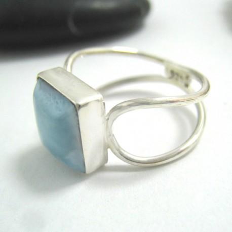 Larimar-Stone Larimar Yamir Ring Viereck LV21 11673 39,90 €
