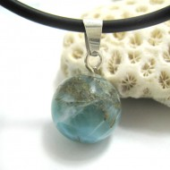 Larimar-Stone Larimar Pendant Bead 02 11675 49,00 €