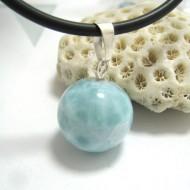 Ларимар kулон мяч 04 11677 Larimar-Stone