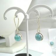 Larimar-Stone Larimar Earrings Round YO42 11694 39,00 €
