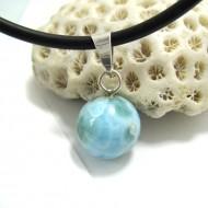 Larimar-Stone Larimar Pendant Bead 05 11686 29,00 €