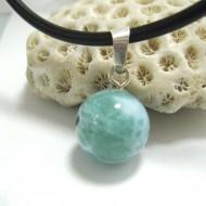 Larimar-Stone Larimar Pendant Bead 06 11687 29,00 €