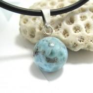 Larimar-Stone Larimar Pendant Bead 08 11682 39,00 €