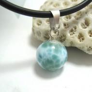 Ларимар kулон мяч 09 11683 Larimar-Stone