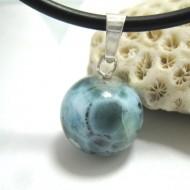 Ларимар kулон мяч 12 11678 Larimar-Stone