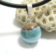 Ларимар kулон мяч 13 11679 Larimar-Stone