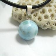 Larimar-Stone Larimar Pendant Bead 14 11680 39,00 €