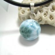 Ларимар kулон мяч 15 11681 Larimar-Stone