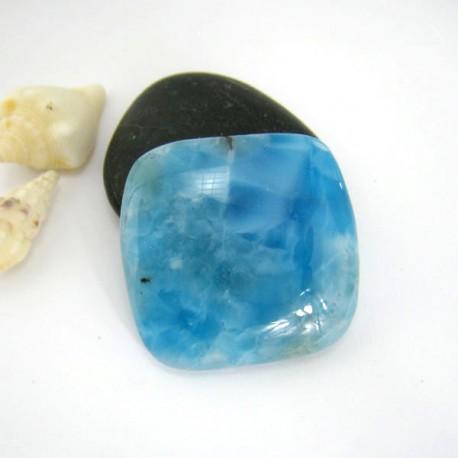 Ларимар четырехугольник кабошон 9165 Larimar-Stone