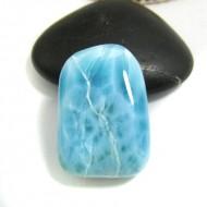 Ларимар галтованный HL89 11732 Larimar-Stone
