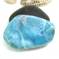 Larimar-Stone Larimar Tumbled Hand flattererHL90 11733 99,90 €