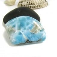 Ларимар галтованный HL91 11734 Larimar-Stone