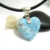 Larimar-Stone Yamir Pendant Heart YH25 11704 59,90 €
