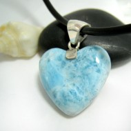 Ларимар ювелирные изделия сердце YH26 11705 Larimar-Stone