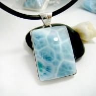 Ларимар ювелирные изделия кулон YL18 11709 Larimar-Stone