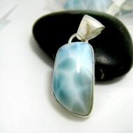Ларимар kулон свободной форме FR111 11711 Larimar-Stone