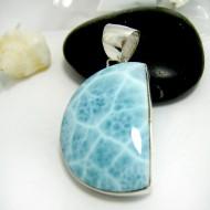 Ларимар ювелирные FR113 11715 Larimar-Stone
