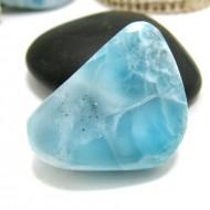 Ларимар галтованный HL94 11737 Larimar-Stone