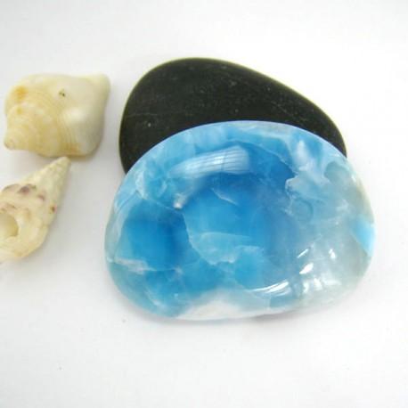 Larimar-Stone Freeform Cabochon 9175 69,00 €