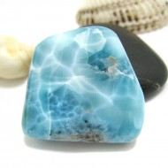 Ларимар галтованный HL102 11742 Larimar-Stone