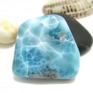 Larimar-Stone Larimar Tumbled Hand flattererHL102 11742 89,90 €