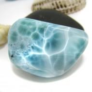 Ларимар галтованный HL103 11743 Larimar-Stone